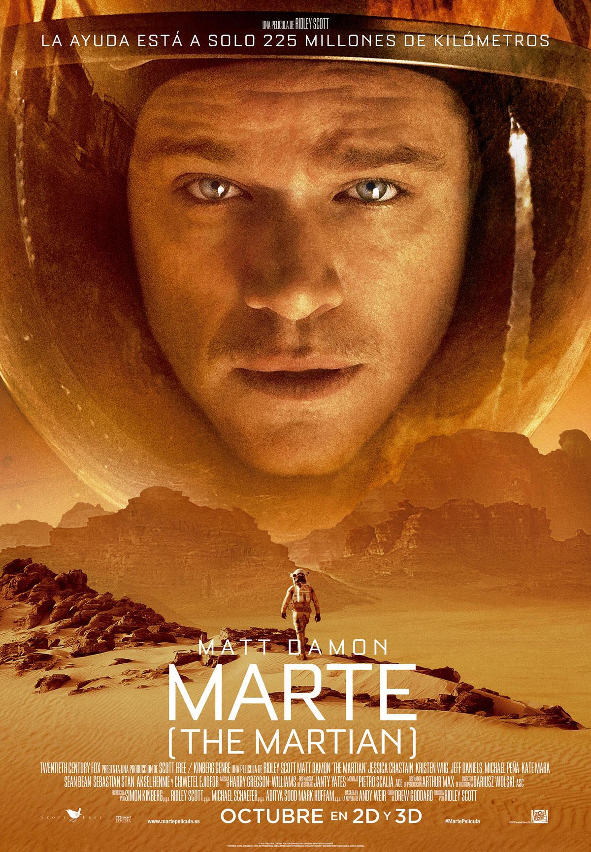 Marte (The Martian), Robinson en Marte