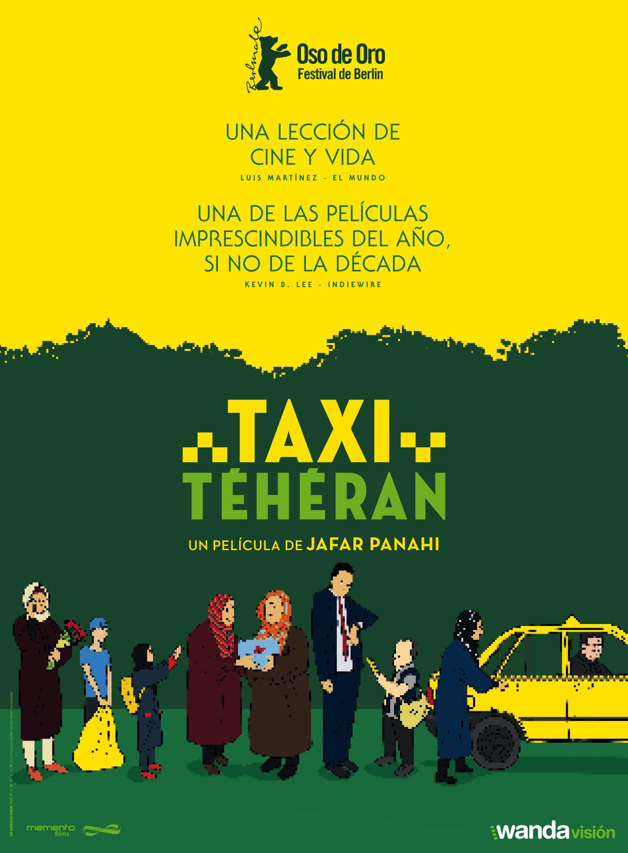 Taxi Teherán, la vida de una sociedad