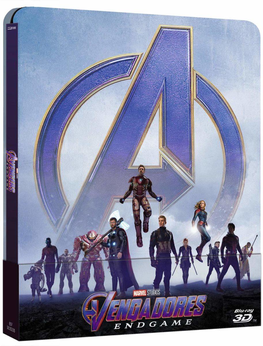 Vengadores: Endgamen Blu-Ray